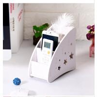遥控器收纳盒多功能创意桌面收纳盒摇控器收纳盒客厅茶几收纳架