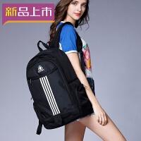 2018双肩包女韩版高中初中学生书包电脑包大容量旅行包时尚潮流背包男