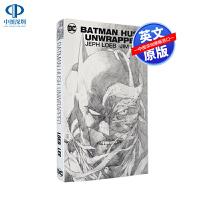英文原版 DC系列漫画 蝙蝠侠 Jim Lee缄默线稿版 精装 Batman: Hush Unwrapped Delux