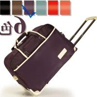 可折叠旅行包大容量手提旅行袋收纳袋装衣服的包包拉杆行李包可爱