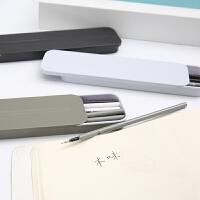 晨光文具 晨光本味优品铁盒12支装中性笔替芯 水笔芯0.5黑色