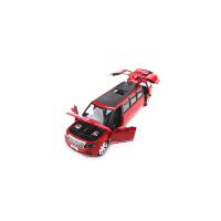 合金兰博基尼悍马H2路虎加长版声光开门合金小汽车模型玩具