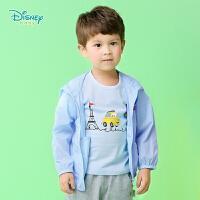 迪士尼Disney婴幼儿服饰宝宝连帽外套防晒服长袖上衣151S673