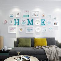物语时尚家居馆客厅装饰画现代简约沙发背景墙壁画创意挂画 占墙面积约 整套组合 框厚约3cm左右