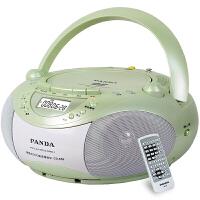 【送清洁磁带套装】熊猫/PANDA CD-850多功能DVD复读播放机CD胎教机磁带录音机收音收录机MP3播放器音响绿