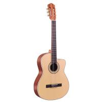 39寸古典吉他圆角缺角尼龙弦初学者男女学生电箱乐器