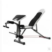 多功能仰卧板仰卧起坐健身器材家用哑铃凳二头肌板凳飞鸟背阔肌凳 默认