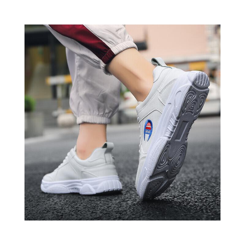 乌龟先森  休闲鞋春季新款男士低帮运动鞋子男生韩版潮流板鞋男百搭小白鞋男潮鞋子