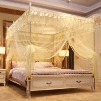 落地蚊帐 公主风蚊帐支架加密1.5m加厚1.2床家用1.8米