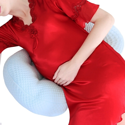 托腹抱枕睡觉用品春夏 孕妇枕头护腰侧睡卧枕U型枕