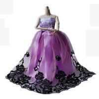 ?芭比洋娃娃衣服婚纱裙子时装大裙子古装娃娃套装服饰? 只是衣服,不含身体