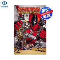英文原版 死侍番外漫画合集2 精装收藏版Deadpool Minibus 2 漫威 漫画 美漫 进口 正版