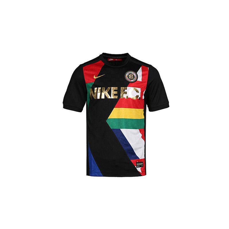 NIKE耐克2018年新款男子AS M NK FC TOP JSY 足球运动短袖T恤886873-010 秋装尚新 潮品来袭 正品保证