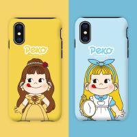 韩国不二家iphonexr手机壳x苹果x女8plus全包xs max可爱7牛奶妹XR iPhone7/8不二公主 现货