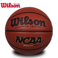 威尔胜篮球防滑耐磨NCAA比赛用球校园传奇MVP经典WB645G