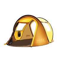 帐篷户外3-4人 全自动二室一厅2人速开防雨账蓬野营