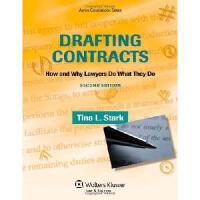 【预订】Drafting Contracts: How & Why Lawyers Do What They Do 2e