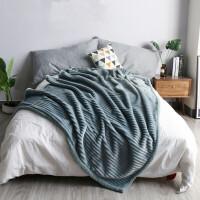 毛毯子双层复合法兰绒加厚羊羔绒被子盖毯四季通用毯学生盖毯午休毯空调毯孔雀蓝 孔雀蓝