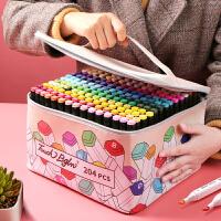 马克笔套装touch正品1000色全套彩笔套装双头酒精油性48色水彩笔专业画画笔美术学生儿童绘画手绘美术生专用