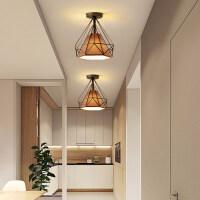 【支持礼品卡】超薄led吸顶灯圆形卧室灯简约现代客厅房间过道走廊入户灯具北欧4gu