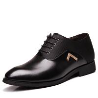 波图蕾斯当季新款增高鞋男士内增高皮鞋6cm商务正装休闲皮鞋内增高男鞋婚