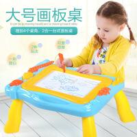 【满200减100】儿童早教益智创意涂鸦绘画板磁性画板桌写字玩具3-6岁男孩女孩六一儿童节礼物