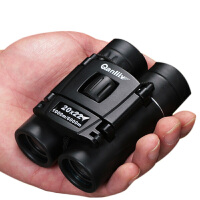 双筒望远镜 便携高倍高清微光夜视非红外军演唱会迷你望眼镜 猎鹰20X22标准版