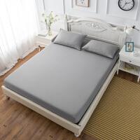 床笠单件北欧保护套防尘罩床垫套双人1.5米1.8防滑床罩 银色 银灰色 常规款120*200 11-22cm