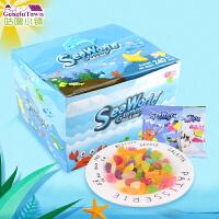 【满99减50元】泰国进口尚合兴欢乐海洋软糖240g橡皮糖水果味软糖办公室零食礼盒