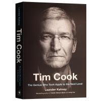 蒂姆库克传 英文原版人物传记 Tim Cook 苹果公司的创新之路 乔布斯继任者 乔纳森传作者力作 Leander K