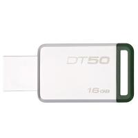 Kingston 金士顿 DT50/16G 32G 64G 128GU盘 3.0 银色