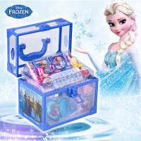 冰雪奇缘公主彩妆盒儿童化妆品安全玩具女孩化妆手提箱 时尚手提箱
