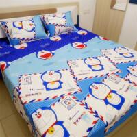 床单海绵宝宝单件被单单人卡通儿童男孩子男童可爱学生小孩宿舍的