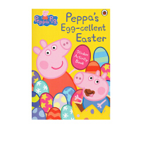 【128�x10】粉�t�i小妹 小�i佩奇 英文原版 Peppa Pig Peppa's Egg cellent Easter