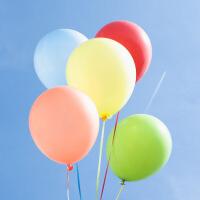 彩色气球婚房装饰布置用品新年节日婚庆结婚加厚结婚儿童 图片色