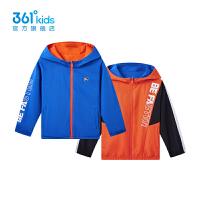 361度童装男童两面穿外套2021秋季新款中大童休闲外套 N52131601