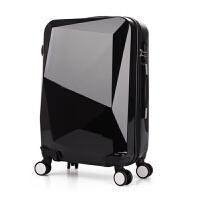 炫酷拉杆箱20寸24寸PC光面万向轮旅行箱包密码登机行李箱子男女潮