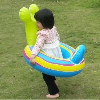 INTEX老虎汽车造型儿童坐圈 男女宝宝游泳圈 青蛙飞机婴幼儿浮船