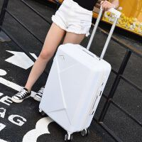 子母箱包商务拉杆箱万向轮旅行箱男26283032寸密码箱 白色 *包