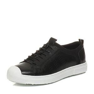 Bata/拔佳夏季专柜同款时尚撞色系带拼接牛皮休闲男单鞋211-2BM7