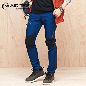 AIRTEX/亚特软壳裤秋冬新款加厚保暖登山裤户外男款