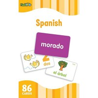 Flash Kids Flash Cards: Spanish 英文原版 Flash Kids卡片:西班牙语