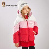 【2件5.5折券后�A估�r:231元】暇步士童�b女童棉服冬�b新款�和����上衣中大童����拼接外套