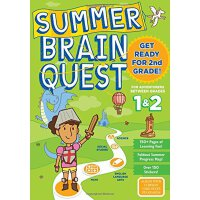 Summer Brain Quest: Between Grades 1 & 2 英文原版 Brain Quest暑假