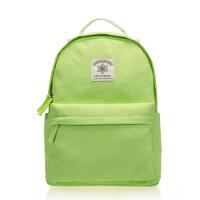 时尚百搭双肩背包女包学生书包学院风大容量纯色帆布包包定做