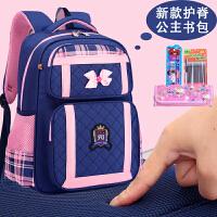 书包小学生女孩1-3-6年级一儿童2019韩版新款5女童三到六护脊减负