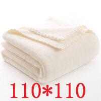 婴儿浴巾新生儿童宝宝盖毯比纯棉纱布吸水超柔加大加厚洗澡毛巾被