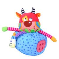 LALABABY拉拉布书布玩具宝宝安抚玩具手偶 忙碌牛安抚