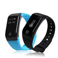 新款智能手环运动计步心率血压血氧睡眠健康监测防水手环