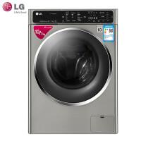 LG WD-QH450B7H 银色 10KG全自动洗干一体变频烘干洗衣机